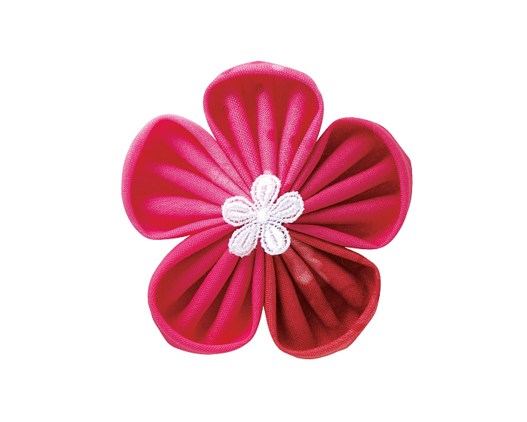 clover kanzashi flower maker instructions