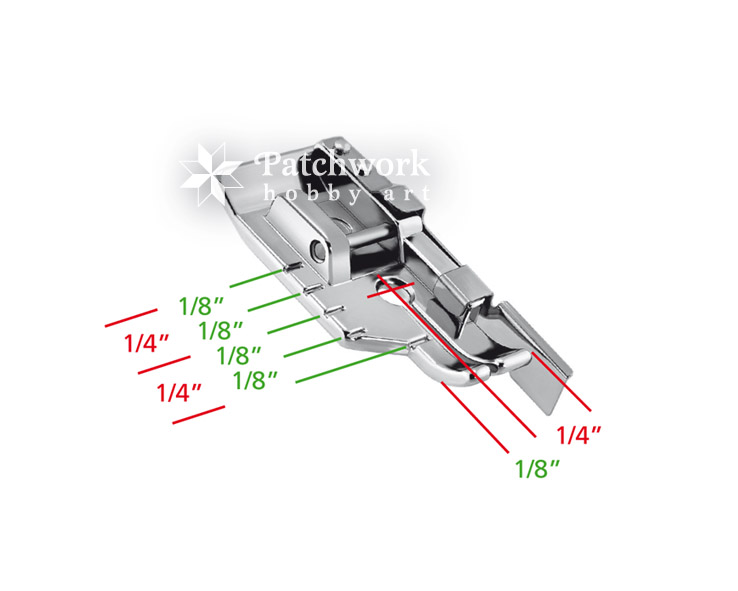 Quilting Presser Foot 40040 Inch 40040 Inch With Guide Patchwork Hobby Art Impressive 1 4 Inch Sewing Machine Foot