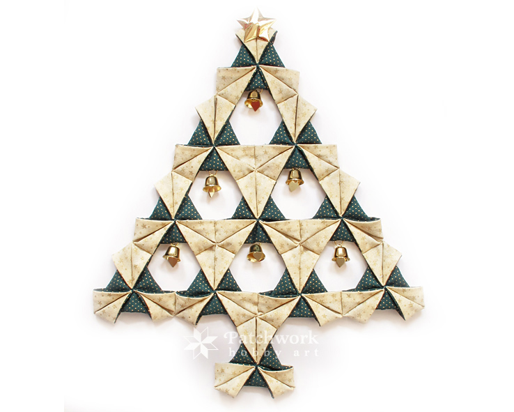Christmastree Origami 7 Patchwork Hobby Art