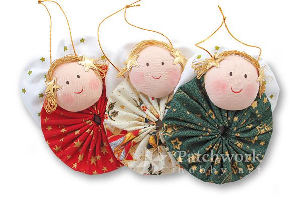 Anjeli, vianočné ozdoby, titulný obrázok