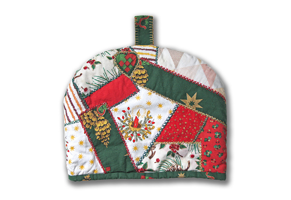 Vianočná čiapka na konvicu, titulný obrázok