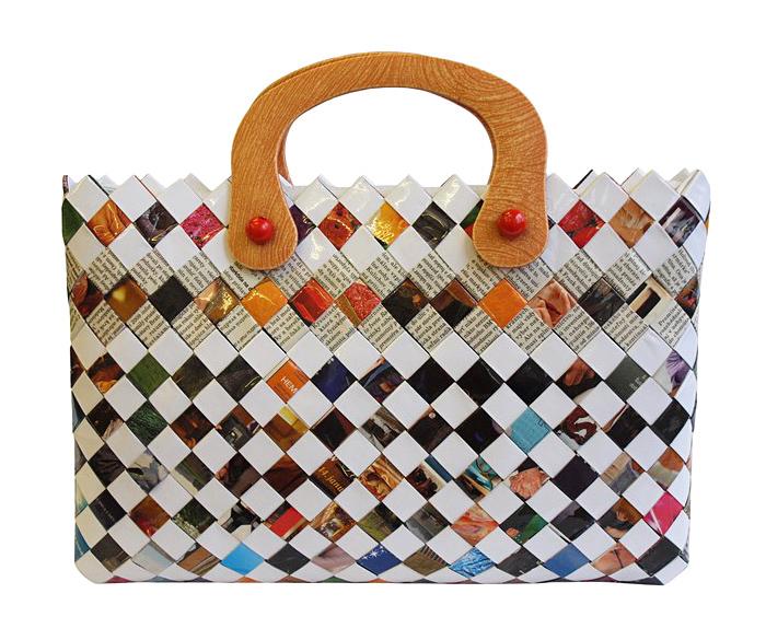 Papierová kabelka Adriana, titulný obrázok