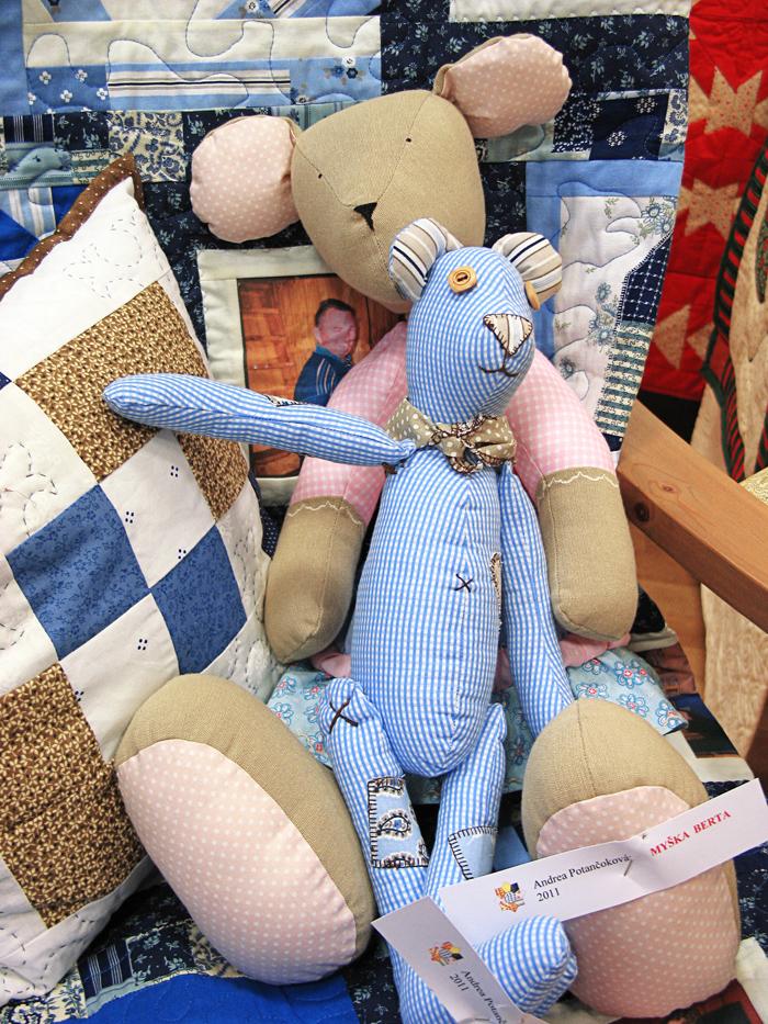 Textilné hračky, patchwork