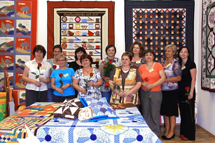 Skupinová fotka členiek cechu