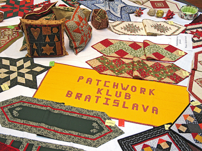 Výstava Patchwork klubu, Ružinov, Bratislava