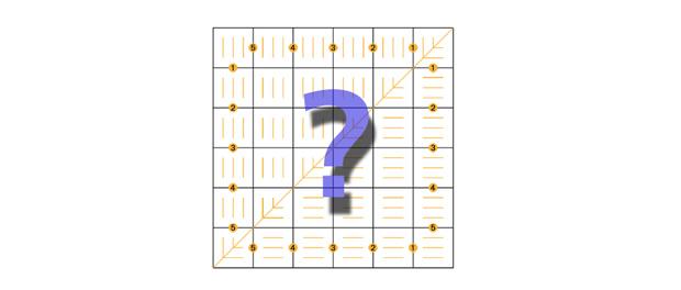 Ako používať štvorcové pravítko, titulný obrázok