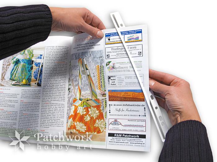Navliekanie časopisu do závesnej lišty
