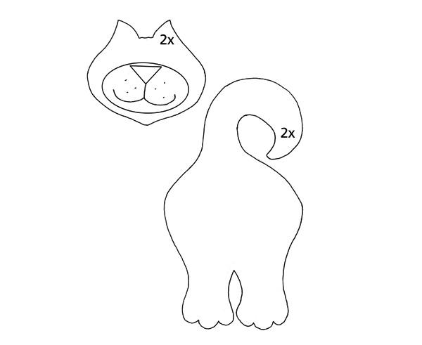 Strih na mačku, titulný obrázok