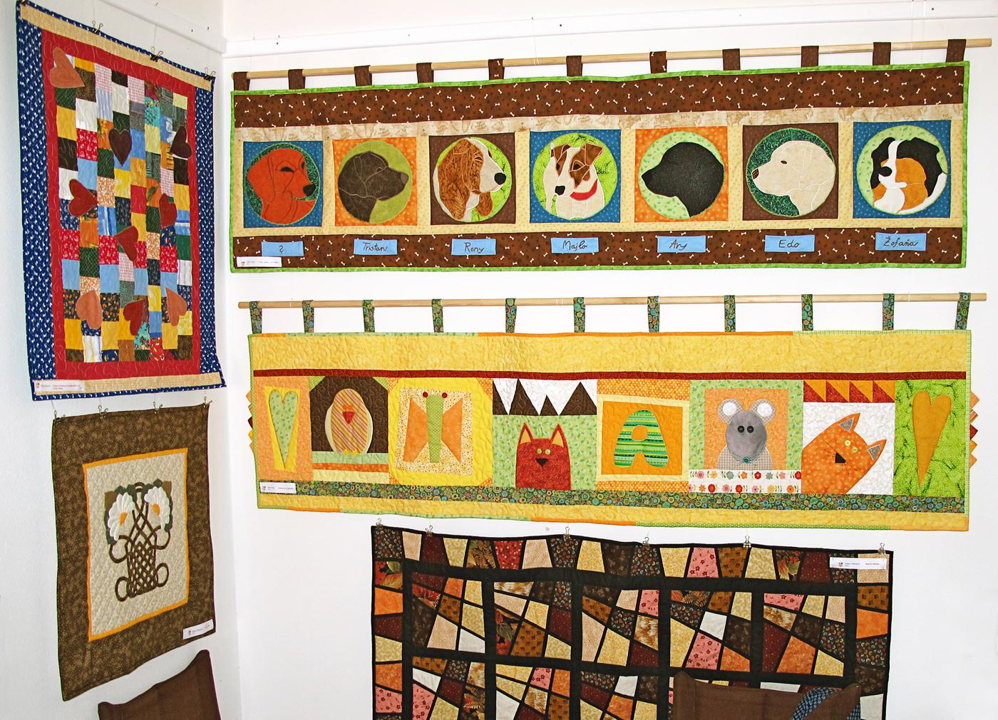 Výstava Patchworkársky cech