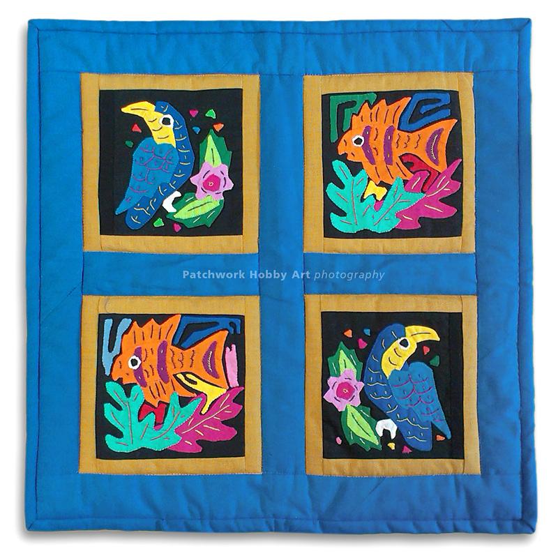 Nástenný quilt, Mola patchwork