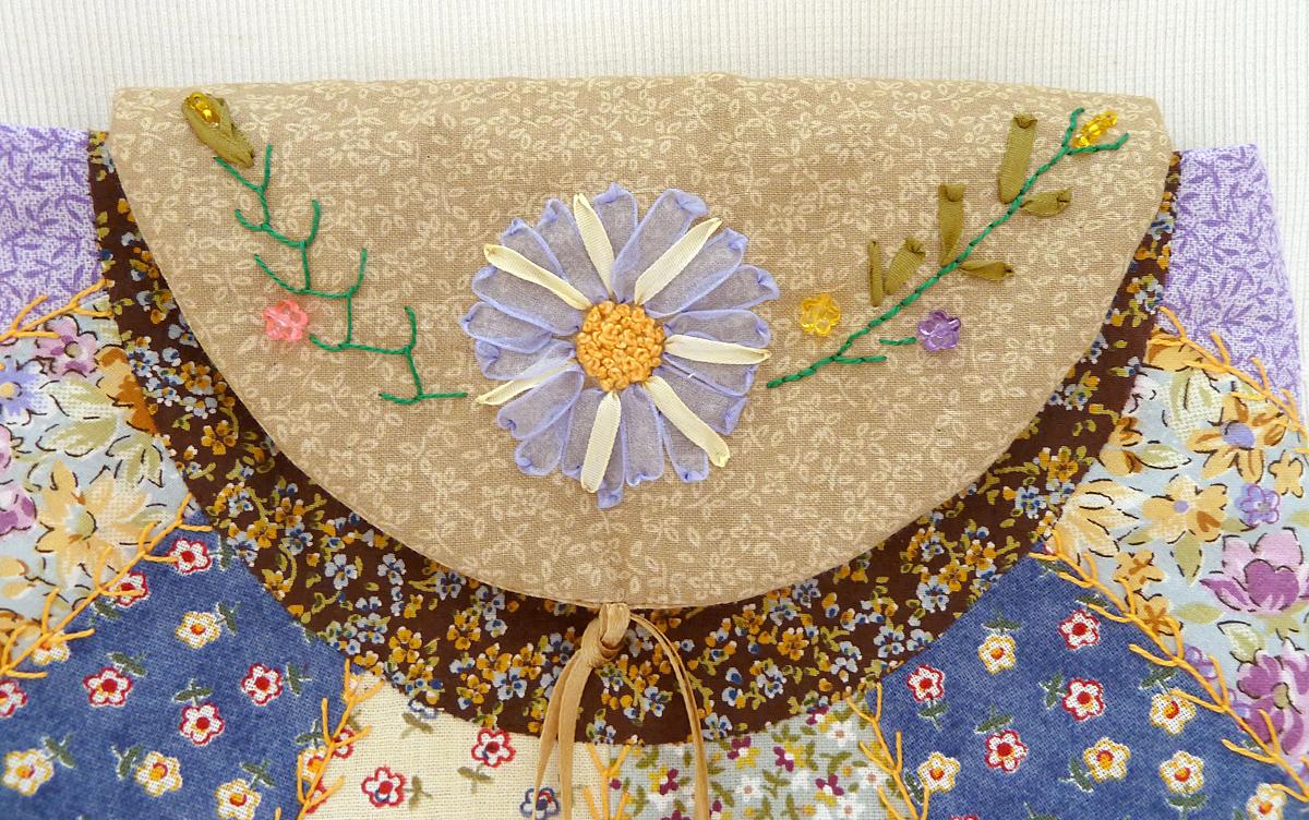 Taštička od Irmy, detail
