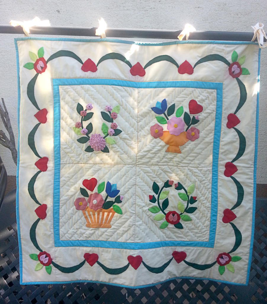 Baltimore quilt, Lívia