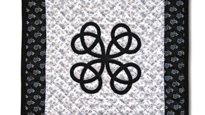 Keltský uzol čierny