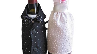Na fľašu - ženích a nevesta