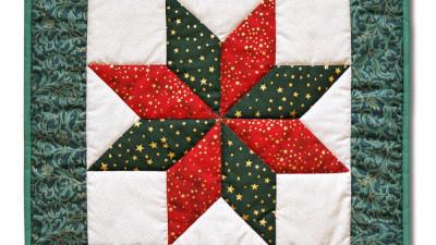 Vianočný vankúš 1