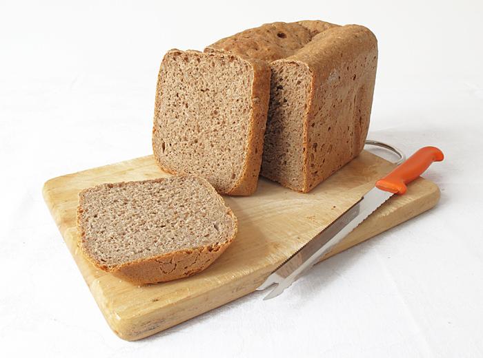 Domáci chlieb tmavý