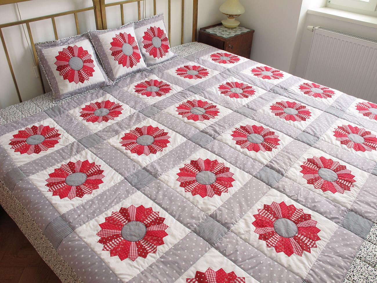 Narodeninová patchworková deka pre Zuzanu