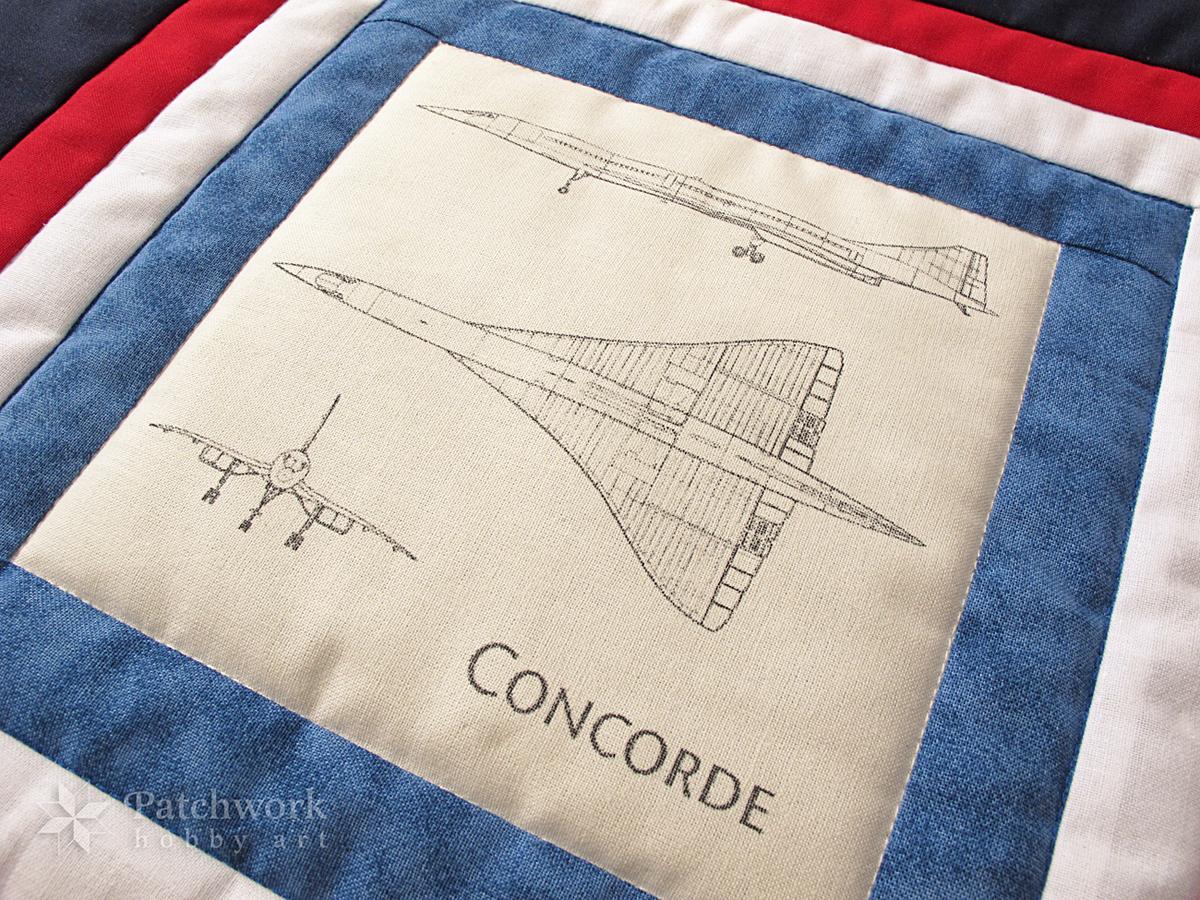 Vankúš CONCORDE, patchwork 1